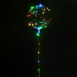 Гирлянда LED 30 разноцветных лампочек - фото 10560