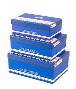 Коробка s/3(синий) - фото 12295