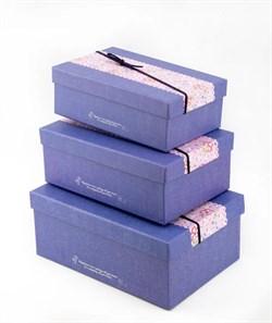 Коробка  s/3(синий) - фото 12297