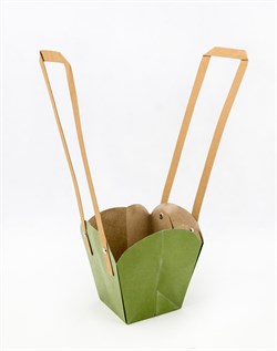 Пакеты под цветы (зеленый)(мин.10) - фото 12709