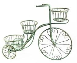 """Подставка под цветы """"Велосипед"""" - фото 12822"""