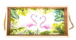 """Поднос """"Фламинго"""" - фото 12952"""