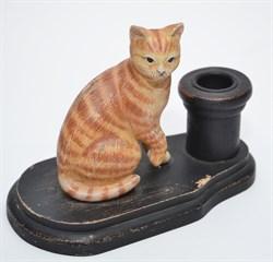 "Подсвечник ""Кошка"" - фото 4707"
