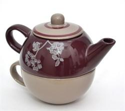 Чайник с чашкой - фото 5430