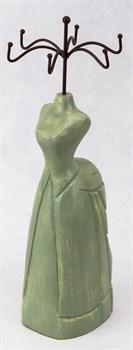 Манекен для украшений (зеленый) - фото 5879