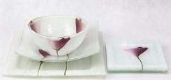 Комплект посуды (белый) - фото 6223