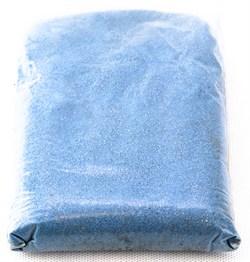 Песок 0,5кг(голубой) - фото 6283