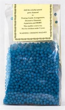Камни 0,5кг(синие шарики) - фото 6291