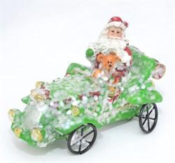 Дед Мороз на машине - фото 7446