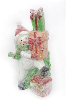 Снеговик с подарками - фото 7447