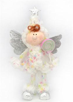 Ангел с конфетой 40см - фото 7488