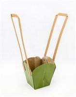 Пакеты под цветы (зеленый)(мин.10)
