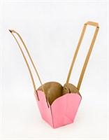 Пакеты под цветы(розовый)(мин10)