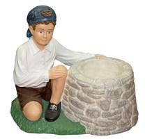 Мальчик с корзиной