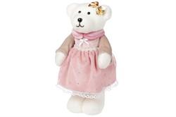 Медведь (девочка) в розовом платье