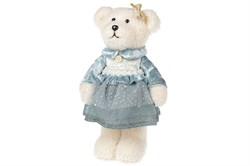 Медведь(девочка) в голубом платье