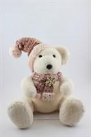 Медведь в розовой шапке(большой)