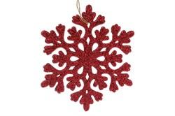Снежинка (красный) (45)