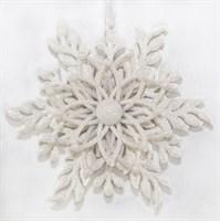 Снежинка (белый) (45)