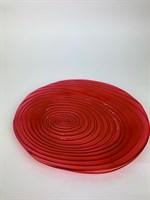 Тарелка (красный)