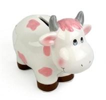 Копилка-корова ( розовый)