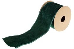 Бархатная лента (темно-зеленый)