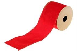 Бархатная лента (красный)