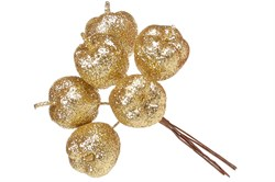 Букетик яблок (золото)