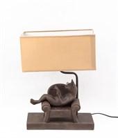 """Лампа """"Кот на диване"""""""