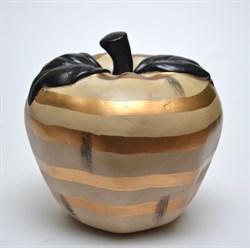 Декоративная фигурка яблоко 18х15см