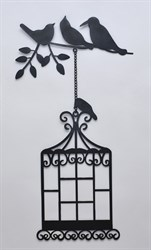 Декор  - Клетка 61х33см