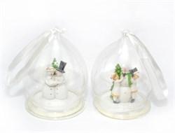 Снеговики в шаре(мин2)